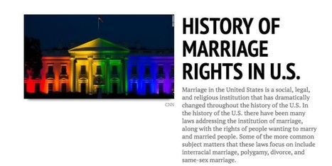 Evolution of Marriage Rights in the U.S. : Timeline Powered by RebelMouse | Legal Issues, News, Safety, and Everything In Between | Scoop.it