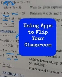Apps for a Flipped Classroom | iCt, iPads en hoe word ik een ie-leraar? | Scoop.it
