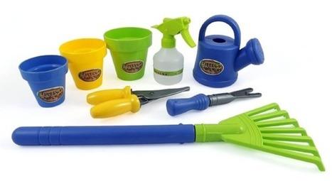 Little Gardeners 8 Piece Gardening Tool Set for Kids $6.95 + FREE Prime Shipping (Reg. $15)! | Gardening | Scoop.it