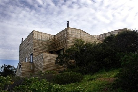 Stunning wood-clad house in Chile... | The Architecture of the City | Scoop.it
