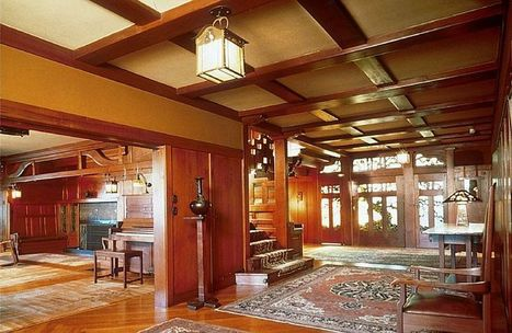The Gamble House of Pasadena: the ultimate bungalow - Pittsburgh Post Gazette | Window and Interior Designs | Scoop.it