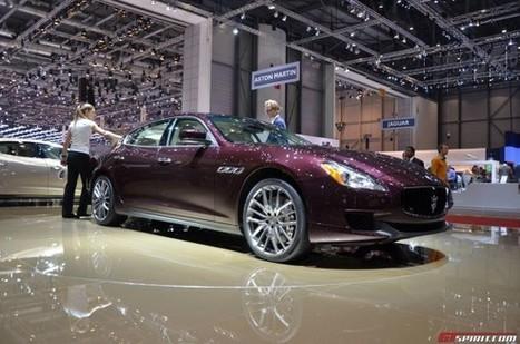Genève 2013 : Maserati Quattroporte   Auto , mécaniques et sport automobiles   Scoop.it