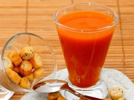 Le gaspacho, votre allié minceur de l'été | Les aliments brûle-graisse | Scoop.it