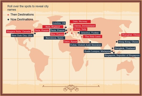 Infographic Reveals How Tourism Has Changed Over 150 Years - io9 | Touristic Technology | Scoop.it