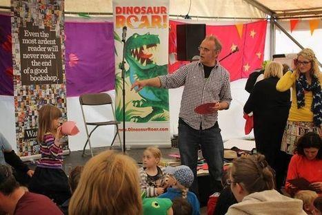 Dinosaur Roar! at the Waterstones Tent at Wychwood Festival earlier this month!... | Dinosaur Roar! | Scoop.it