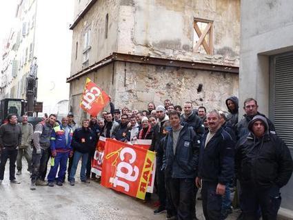 Les ouvriers du BTP de Vinci en grève pour revaloriser les salaires - Var-Matin   carqueiranne   Scoop.it