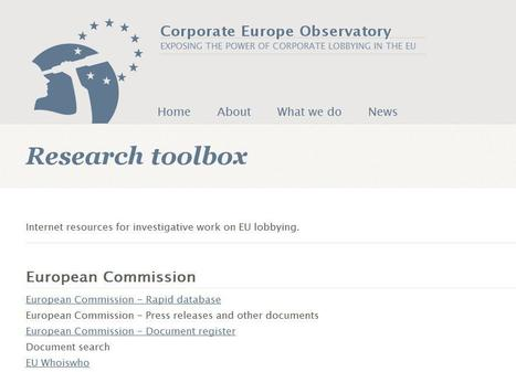 Research toolbox | Top sites for journalists | Scoop.it