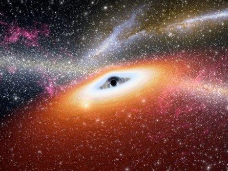 Un trou noir géant surpris en train d'engloutir une étoile | Epic pics | Scoop.it