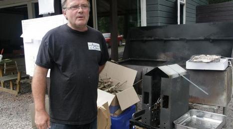 Innovation. Moins de fumée avec le barbecue de l'Atelier de l'Odon | Innovation-Créativité | Scoop.it