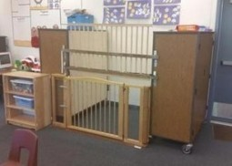 Disabled Child in Soiled Diapers Locked In Cage in Elementary School Classroom | SocialAction2015 | Scoop.it