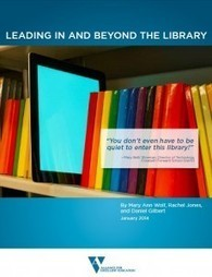 Leading In and Beyond the Library | Teacher-Lib... | School Library Learning Commons | Scoop.it