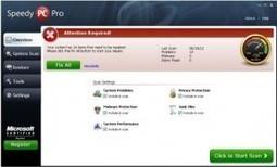 Uninstall SpeedyPC Pro: New Fake Anti-spyware! - Tee Support Blog | fake anti-virus program | Scoop.it