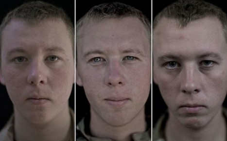 Photos of soldiers before, during, and after their tours show the ... | War | Scoop.it