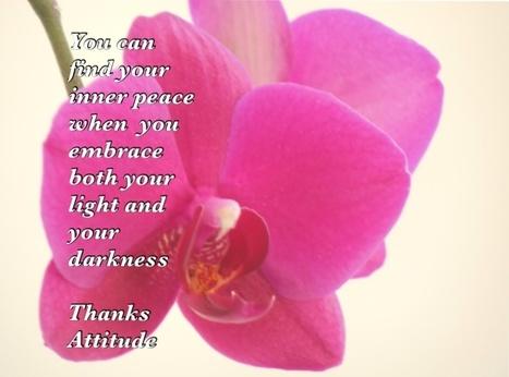 Inner peace   Thanks Attitude   Scoop.it