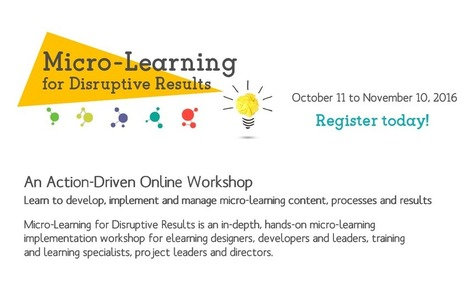 Vignettes Learning - Micro-Learning for Disruptive Results | elearning stuff | Scoop.it