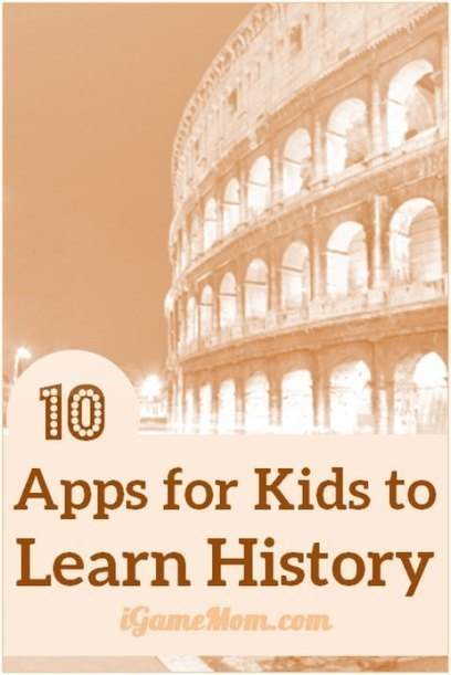 10 Apps for Kids to Learn History | Technology in Today's Classroom | Scoop.it