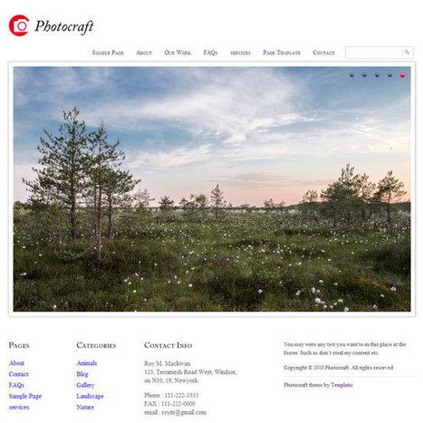 Photocraft WordPress Theme | WordPress Theme Download | Best WordPress Themes 2013 | Scoop.it