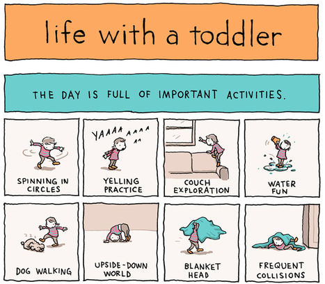 Life With A Toddler [Comic] | Parenting, Family & Kids | Scoop.it