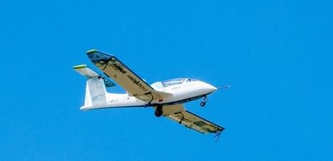 E-Fan: comment le premier avion électrique d'Airbus traverse la ... - Challenges.fr | New technology | Scoop.it
