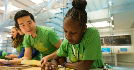 Apple launches coding camps for kids in its retailstores | Entrepreneurship, Innovation | Scoop.it