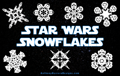 Star Wars Snowflakes 2012 | Grade 6 News You Can Use | Scoop.it