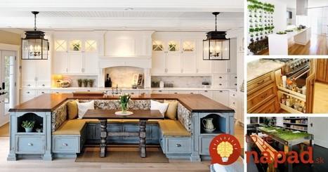 33 geniálnych nápadov do kuchyne | Domácnosť a bývanie | Scoop.it