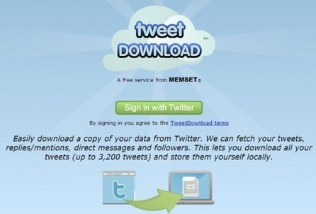 Télécharger ses tweets et sa liste de followers, Tweet Download | Entrepreneurs du Web | Scoop.it