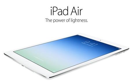 Apple yeni nesil tableti iPad Air'i tanıttı! - Webrazzi | Apple Tv | Scoop.it