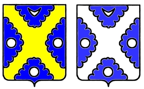 Un peu d'héraldique appliquée | Rhit Genealogie | Scoop.it