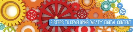 "3 Steps to Developing ""Meaty"" Digital Content | Sinuate Media | Digital Marketing | Scoop.it"