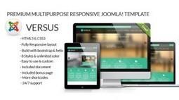 JLV Versus – premium multipurpose responsive Joomla! template | Theme Mart | Scoop.it