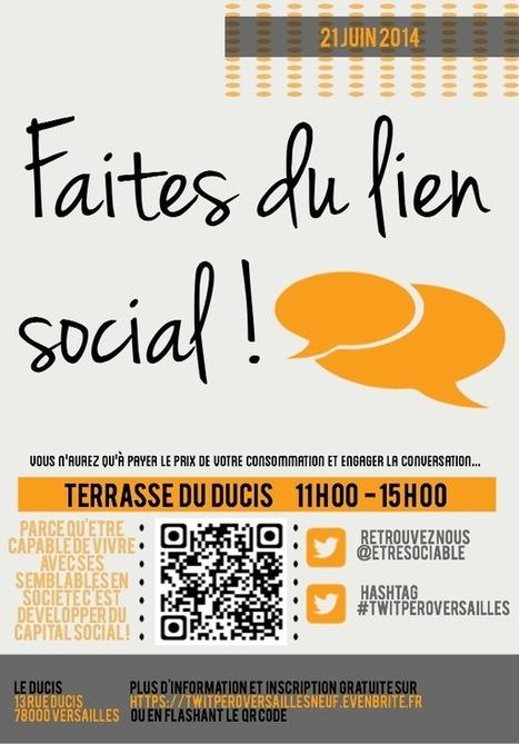 Quand le #LienSocial se fête le 21 juin à Versailles.   RH Attitude   Scoop.it