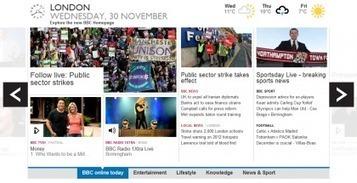 New Look BBC Homepage Breaks Out of Beta - Live Now! - Gadget Helpline (blog) | Digital Teesside | Scoop.it