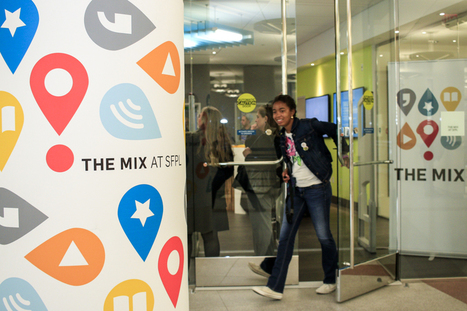 Tour The Mix — One of the Coolest Teen Centers | School Library Design Planning | Scoop.it