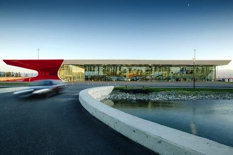 UNStudio - Airport in Georgia | mapolis | architecture – the online magazine for architecture | jpiarchitektai | Scoop.it