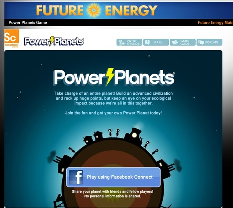 Power Planets Game: Powering the Future: Science Channel | FOR DA LOLZ | Scoop.it