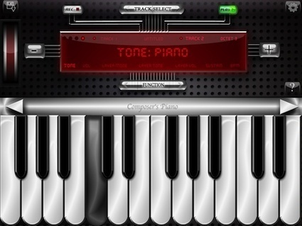 Sound Stage: Composer's Piano Turns Your iPad Into A Multitrack Recorder | Go Go Learning | Scoop.it
