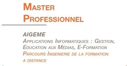 Master AIGEME : Web 2.0 et usages dynamiques | Ressources pédagogiques AIGEME | Scoop.it
