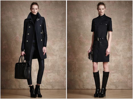 [lookbook] Maud Welzen (DNA) for Belstaff pre-fall 2013 | fashion show | Scoop.it