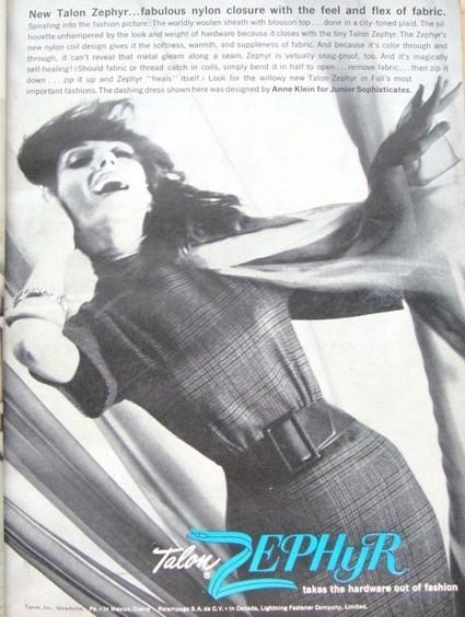 Ad Campaign - Talon Zephyr, 1960 | Vintage and Retro Style | Scoop.it