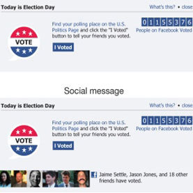 Facebook Experiment Found to Boost U.S. Voter Turnout: Scientific American | Malaysian Youth Scene | Scoop.it