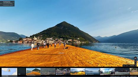 The Floating Piers è suGoogle Maps! | Fotografia news | Scoop.it