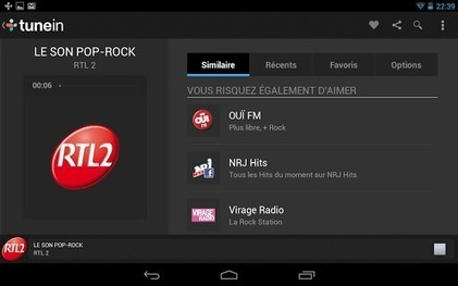 TuneIn Radio - Applications Android sur Google Play | Apps para Android | Scoop.it