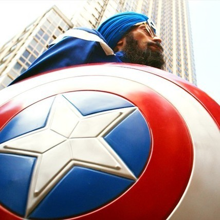 Ka-pow! Why Sikh Captain America should be your new favorite superhero | art education | Scoop.it