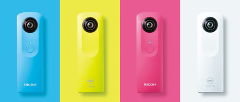 Ricoh Imaging | RICOH THETA m15 BLUE | Digital Technologies for Teachers and Career Practitioners | Scoop.it