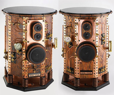 Empire Steampunk Speakers: For Dapper Audiophiles Only | All Geeks | Scoop.it