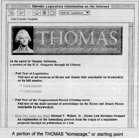Time to Turn off THOMAS: July 5, 2016 | In Custodia Legis: Law Librarians of Congress | Library Collaboration | Scoop.it