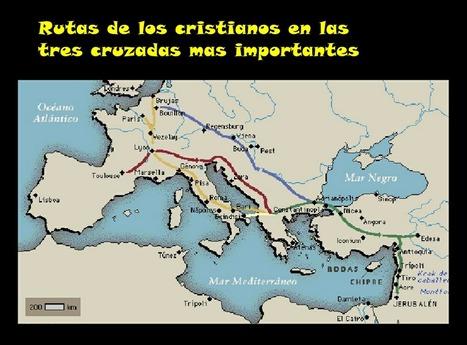 Mapa | Las Cruzadas | Scoop.it