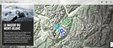 Explorer le massif du Mont-Blanc avec Google Street view | Enseigner l'Histoire-Géographie | Scoop.it