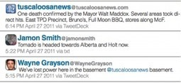 How The Tuscaloosa News' post-tornado tweeting helped bring home a Pulitzer Prize | Poynter. | Journalism Issues | Scoop.it